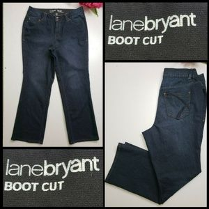 Lane Bryant Woman Boot Cut Tighter Tummy Size 18